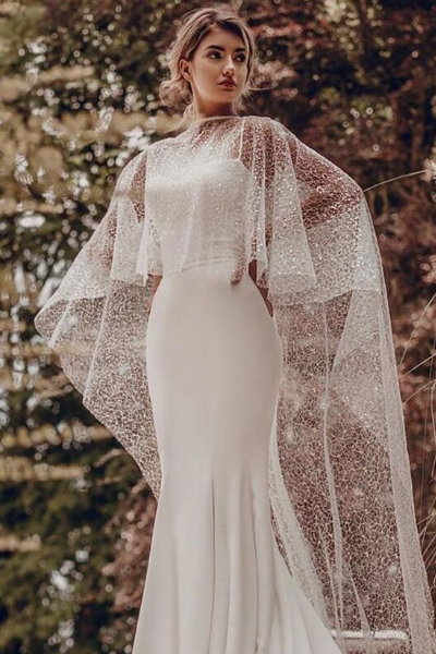 6 wedding dress styles that are the perfect mix of elegance and chic