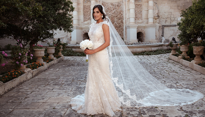 9 Stunning Maltese brides from 2018 to inspire your bridal look