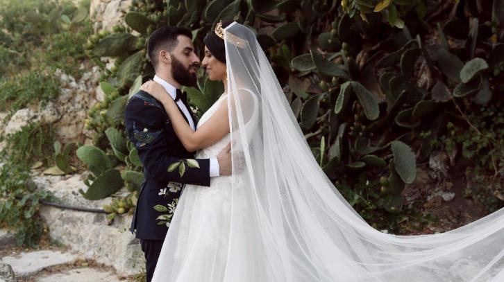 The story behind Malta\'s most fashionable wedding: Philip & Roberta