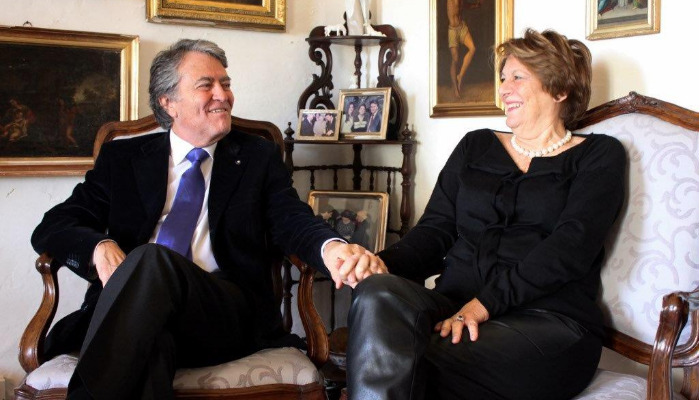 A match made in heaven – Philip & Helen Farrugia Randon