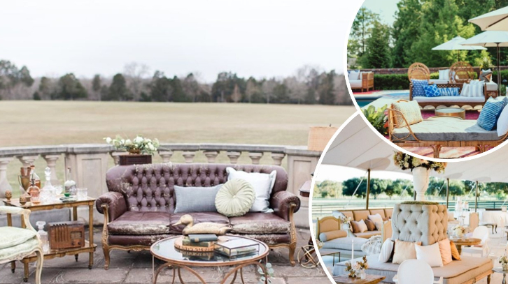 8 Awesome wedding lounge ideas for outdoor weddings