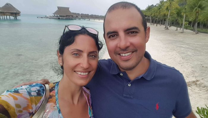 Of love and travel – Diane & Marc