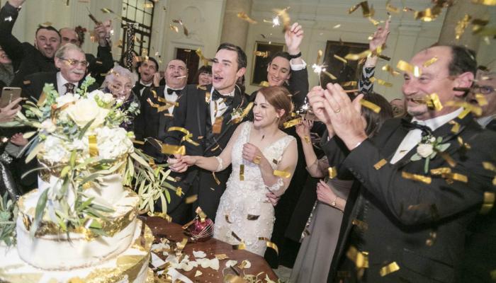 A lush winter wedding in the capital – Andrea & Kurt