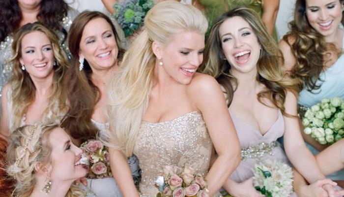 Iconic wedding dresses part 3 celebs jessica simpson junglespirit Images
