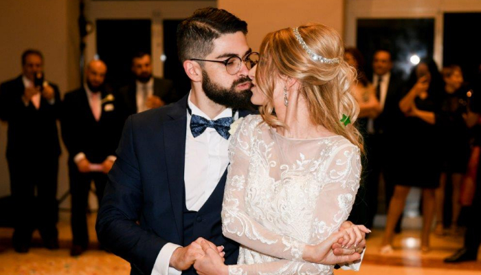 This Maltese bride designed her wedding dress online & it was perfect!