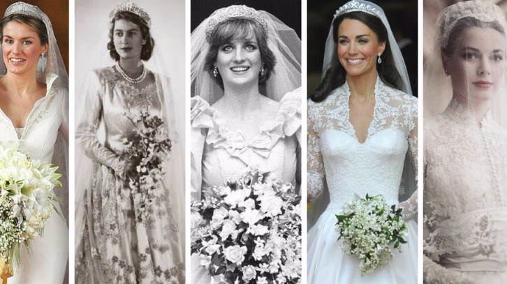 Iconic Wedding Dresses Part 2 The Royals