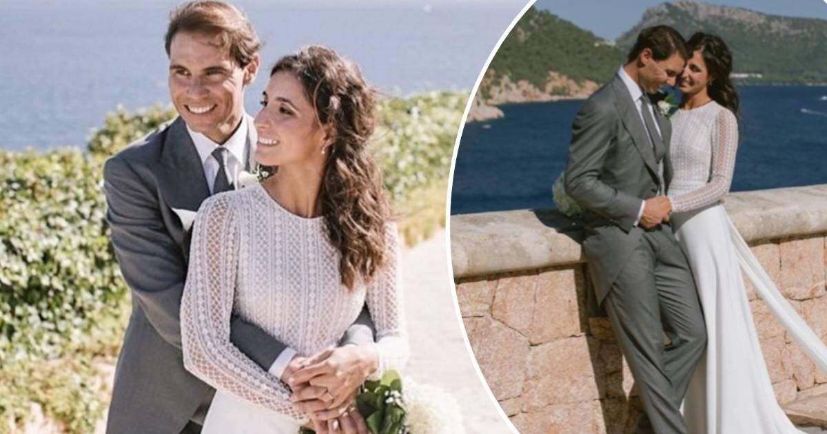 Tennis star Rafael Nadal weds long-term love - and her ...