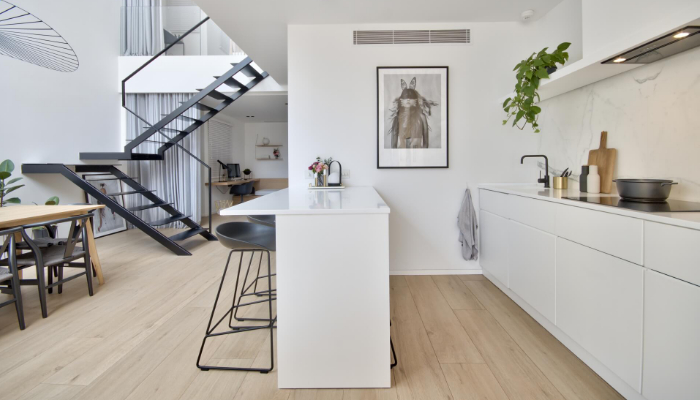 A Light, bright & beautiful home in the heart of St Julian's