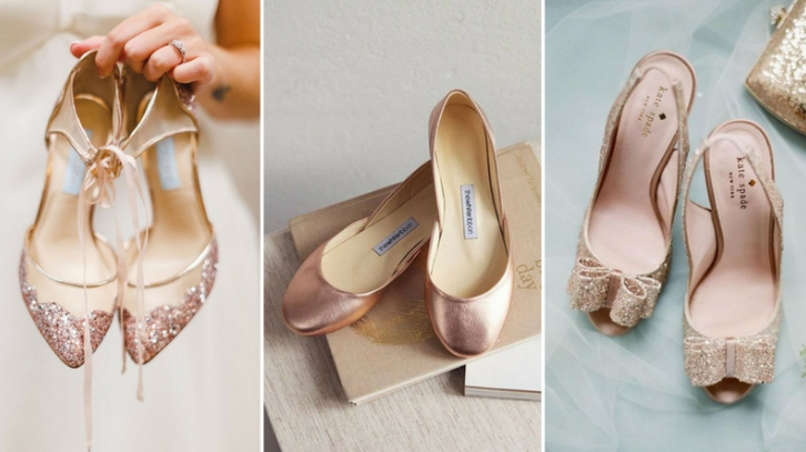 great deals famous brand big sale 10 rose gold wedding shoes you can't help but fall in love with