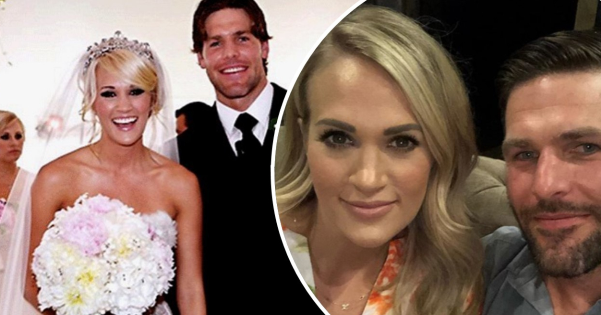 Carrie Underwood and her husband are celebrating 9 years